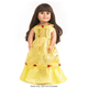 Yellow Beauty Doll Dress
