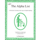 Alpha List: Dictionary Focusing on the Logic of English Spelling