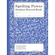 Spelling Power Stdt Acty Record - Blue