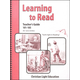 Learning to Read 101-105 Teacher's Guide With Answers (2nd Edition)