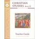 Christian Studies Book IV Teacher Manual