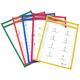 Reusable Dry Erase Pockets - 6