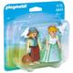 Princess and Handmaid Duo Pack (Playmobil Princess)