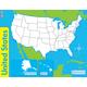 U.S. Wipe-Off Map 17