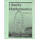 Liberty Mathematics Level A Teacher's Manual