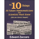 10 Things Future Mathmtns & Scntsts Must Know