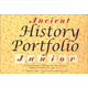 Ancient History Portfolio Junior