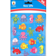 Sea Life Shape Stickers (96 stickers)