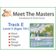 Meet the Masters @ Home Track E Ages 10-AD
