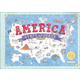 America State by State Fifty Removable Placemats to Color
