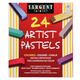 Square Chalk Pastels 24-color Set