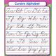 Cursive Alphabet Study Buddy Sticker