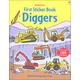 First Sticker Book - Diggers