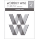 Wordly Wise 3000 3rd Edition Key Book 4