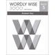 Wordly Wise 3000 3rd Edition Key Book 5