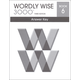 Wordly Wise 3000 3rd Edition Key Book 6