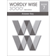 Wordly Wise 3000 3rd Edition Key Book 7
