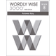Wordly Wise 3000 3rd Edition Key Book 8