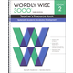 Wordly Wise 3000 3rd Edition Teacher's Resource Book 2