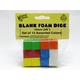 Blank Foam Dice (16mm)