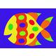 Fish Crepe Rubber Puzzle (19 pieces)
