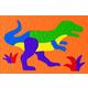 Tyrannosaurus Crepe Rubber Puzzle (14 pieces)