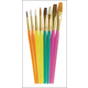 Acrylic Handle Brushes