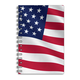 American Flag 3D Notebook 4