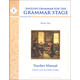 English Grammar Recitation Workbook I Teacher Guide