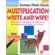 Multiplication Write & Wipe Flash Cards