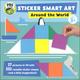Sticker Smart Art: Around the World