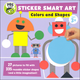 Sticker Smart Art: Colors and Shapes