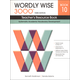 Wordly Wise 3000 3rd Edition Teachers Resource Book 10