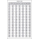 Addition Table / Multiplication Table (6 x 9 Laminated Chart)