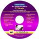 3rd Grade MATH Full Curriculum Software CD - Premium Edition