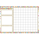 Confetti Hundred Squares Smart Poly Chart Write-On/Wipe-Off