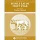 Henle Latin I Tchr Mnl for Units VI-XIV 2ED