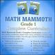 Math Mammoth Light Blue Series Grade 1 CD