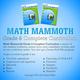 Math Mammoth Light Blue Series Grade 6 CD