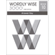 Wordly Wise 3000 3rd Edition Key Book 10