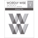 Wordly Wise 3000 3rd Edition Key Book 9