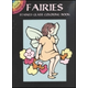 Fairies Little Stained Glass Coloring Book