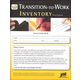 Transition-to-Work Inventory 3rd Edition
