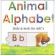Animal Alphabet Slide & Seek the ABC's Board Book