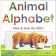 Animal Alphabet Slide & Seek the ABC's Board Book (8.25