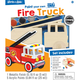 Fire Truck Wood Painting Kit