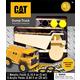 CAT Dump Truck Wood Painting Kit