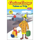 Curious George Takes a Trip Level 1 (Green Light Reader)
