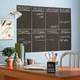 Slate Gray Chalkboard with Chalk (4 sheets)