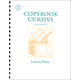 Copybook Cursive Lesson Plans